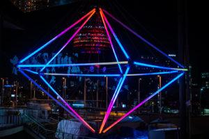 Llum Bcn 2019 il·lumina el mercat amb Polyhedra