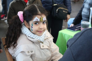 Every saturday, Kids Face Painting!