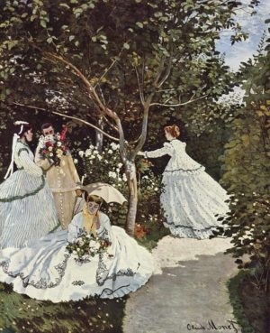 Obra de Claude Monet 'The Women in the Garden'